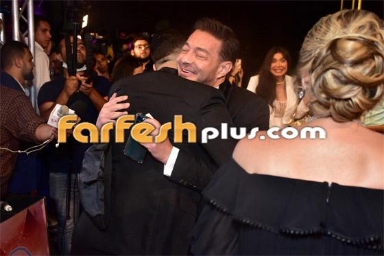 صورة رقم 3 - الفائزين بحفل الدير جيست: منى زكي أفضل ممثلة وأحمد سعد أفضل مغني شعبي