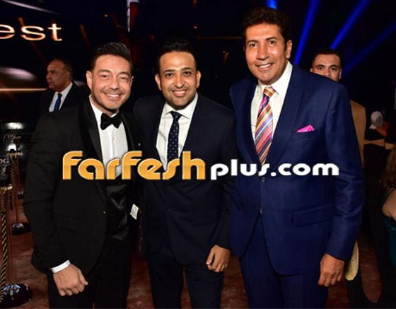 صورة رقم 1 - الفائزين بحفل الدير جيست: منى زكي أفضل ممثلة وأحمد سعد أفضل مغني شعبي