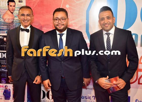 صورة رقم 8 - الفائزين بحفل الدير جيست: منى زكي أفضل ممثلة وأحمد سعد أفضل مغني شعبي