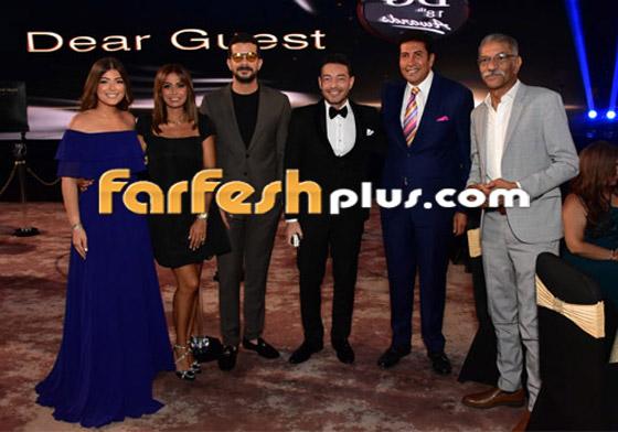 صورة رقم 9 - الفائزين بحفل الدير جيست: منى زكي أفضل ممثلة وأحمد سعد أفضل مغني شعبي