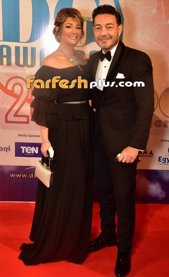 صورة رقم 10 - الفائزين بحفل الدير جيست: منى زكي أفضل ممثلة وأحمد سعد أفضل مغني شعبي