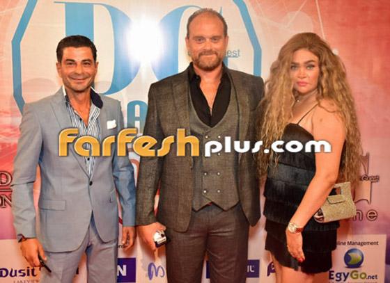 صورة رقم 19 - الفائزين بحفل الدير جيست: منى زكي أفضل ممثلة وأحمد سعد أفضل مغني شعبي