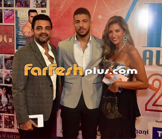 صورة رقم 25 - الفائزين بحفل الدير جيست: منى زكي أفضل ممثلة وأحمد سعد أفضل مغني شعبي