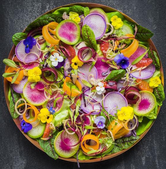 صورة رقم 7 - بالصور: تعرفوا إلى 10 زهور يمكنكم تناولها!
