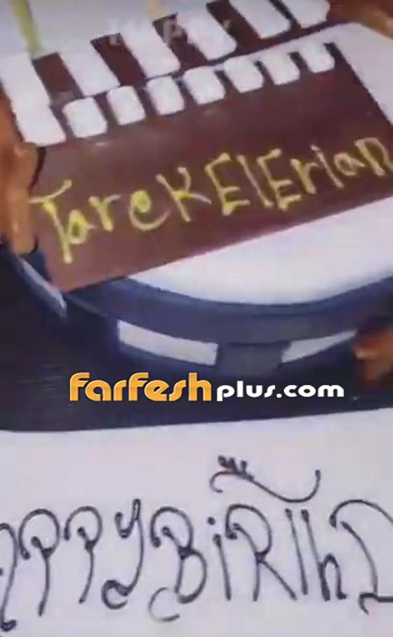صورة رقم 2 - فيديو وصور: نيكول سعفان ترد على زواج أصالة بالاحتفال مع طارق العريان