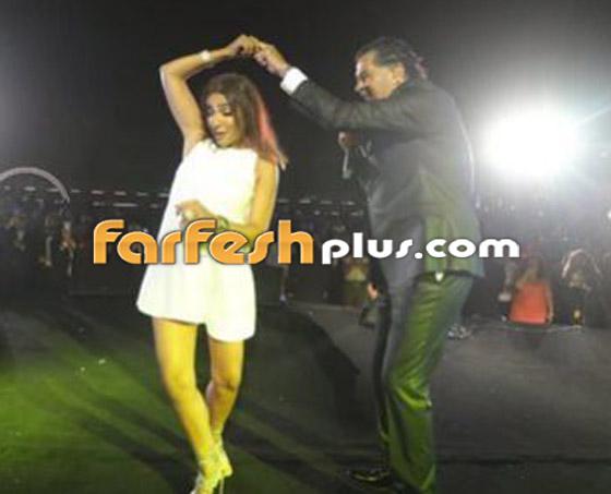 صورة رقم 8 - فيديو: روجينا بفستان جريء ووصلة رقص مثيرة مع راغب علامة