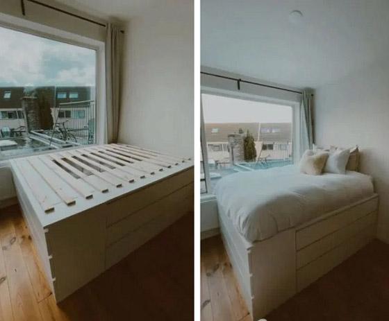 صورة رقم 2 - تصمم سريراً من أدراج آيكيا
