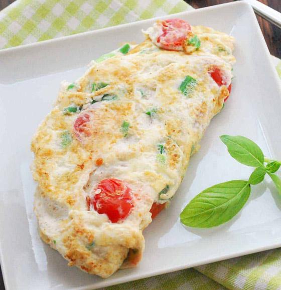 صورة رقم 2 - إليكم طريقة تحضير عجة بياض البيض السهلة واللذيذة للرجيم