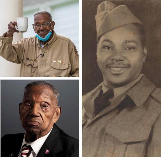 صورة رقم 1 - آخر جندي شارك بالحرب العالمية الثانية مازال على قيد الحياة بعمر 112