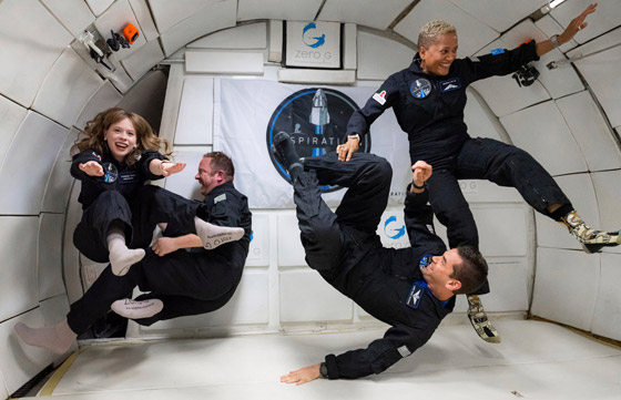 صورة رقم 2 - حدث تاريخي: إطلاق أول رحلة سياحية إلى الفضاء وعلى متنها مدنيون