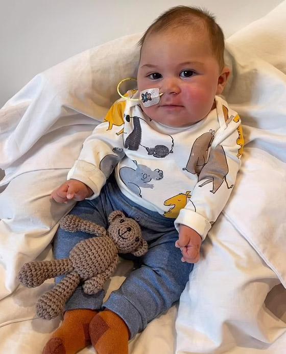 صورة رقم 2 - طفل لم يبكِ منذ وُلد! مرض نادر بدون اسم يحرم مولودا من حالته الطبيعية