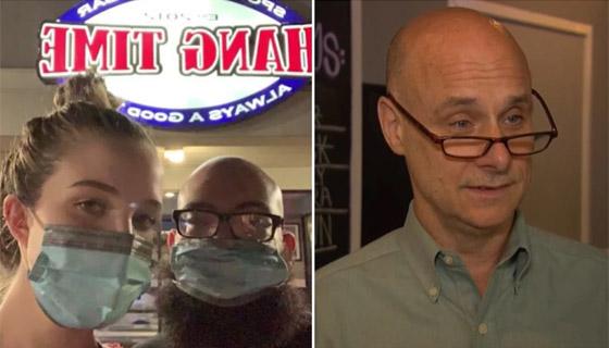 صورة رقم 1 - صاحب مطعم يطرد زوجين بسبب إصرارهما على ارتداء الكمامة الواقية!