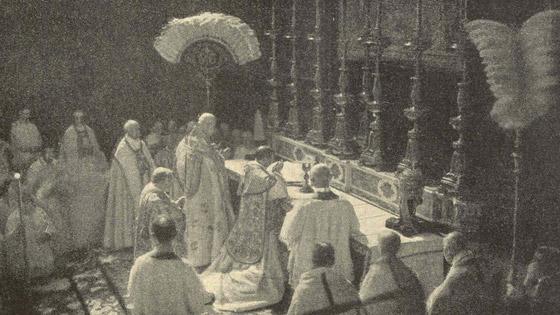 صورة رقم 1 - هكذا حاول البابا إنهاء الحرب العالمية الأولى وتوقع حربا ثانية