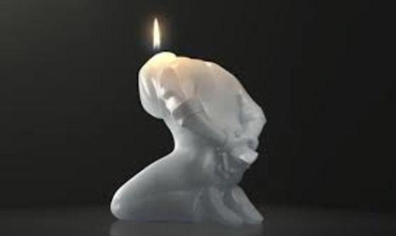 صورة رقم 13 - شاهد بالصور: أغرب أشكال الشموع