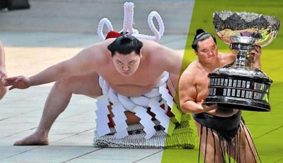 صورة رقم 2 - كورونا يتسبب بإنهاء مسيرة أعظم مصارع سومو بتاريخ الرياضة.. صور