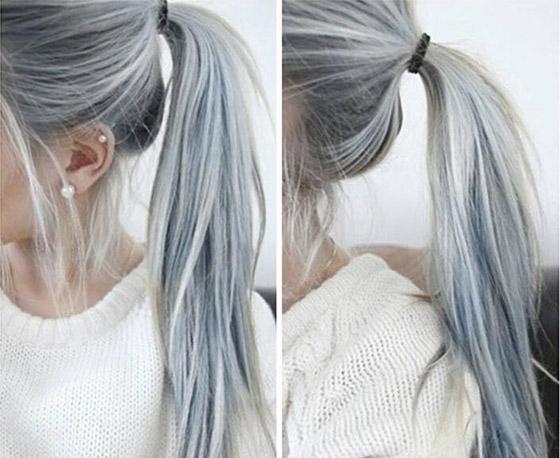 صورة رقم 2 - الشعر الرمادي يضيف 6 سنوات لعمر النساء