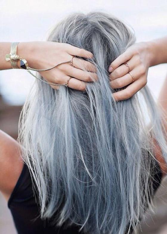 صورة رقم 4 - الشعر الرمادي يضيف 6 سنوات لعمر النساء
