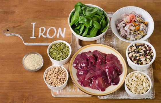 صورة رقم 3 - أعراض خطيرة لنقص الحديد في جسم الإنسان.. وإليكم الحل!