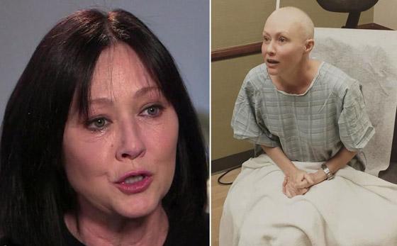 صورة رقم 13 - محاربات سرطان الثدي لستن وحدكن: صور نجمات تألقن برؤوس صلعاء