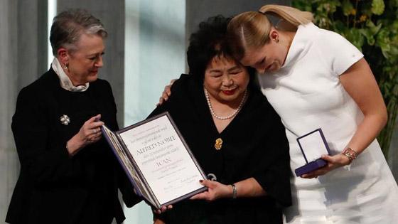 صورة رقم 5 - إليكم الفائزون والفائزات بجائزة نوبل للسلام في السنوات العشر الماضية