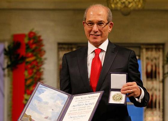 صورة رقم 9 - إليكم الفائزون والفائزات بجائزة نوبل للسلام في السنوات العشر الماضية