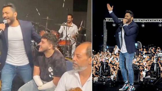 صورة رقم 1 - فيديو تامر حسني يدعو