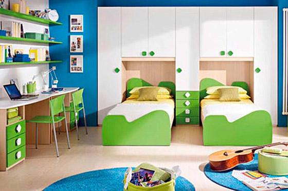 صورة رقم 3 - 4 أفكار مُبدعة لتجديد غرفة أطفالكم في موسم العودة إلى المدارس