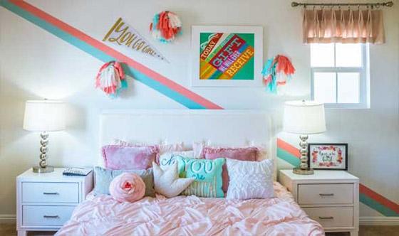 صورة رقم 5 - 4 أفكار مُبدعة لتجديد غرفة أطفالكم في موسم العودة إلى المدارس