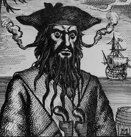 صورة رقم 2 - القصة الحقيقية خلف الأسطورة بلاكبيرد.. القرصان الذي أرعب الكاريبي