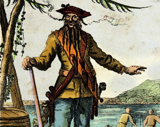 صورة رقم 3 - القصة الحقيقية خلف الأسطورة بلاكبيرد.. القرصان الذي أرعب الكاريبي
