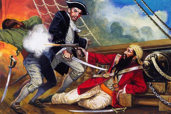 صورة رقم 8 - القصة الحقيقية خلف الأسطورة بلاكبيرد.. القرصان الذي أرعب الكاريبي