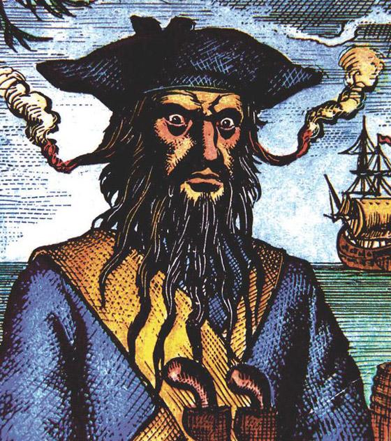 صورة رقم 6 - القصة الحقيقية خلف الأسطورة بلاكبيرد.. القرصان الذي أرعب الكاريبي