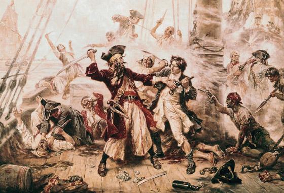 صورة رقم 10 - القصة الحقيقية خلف الأسطورة بلاكبيرد.. القرصان الذي أرعب الكاريبي