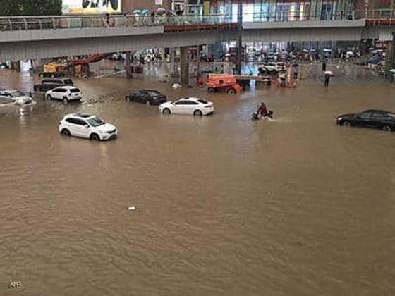 صورة رقم 1 - فيضانات كارثية تجتاح الصين.. قتلى بالمئات وخسائر بالمليارات