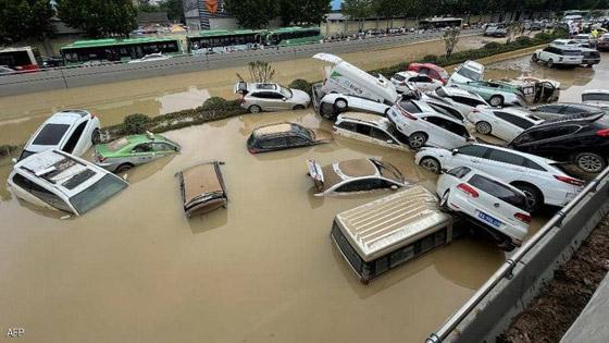 صورة رقم 3 - فيضانات كارثية تجتاح الصين.. قتلى بالمئات وخسائر بالمليارات
