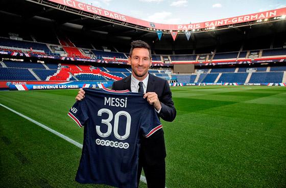 صورة رقم 1 - باريس سان جيرمان يتعاقد مع ميسي رسميا: عقده يمتد لعامين وسيحمل الرقم 30