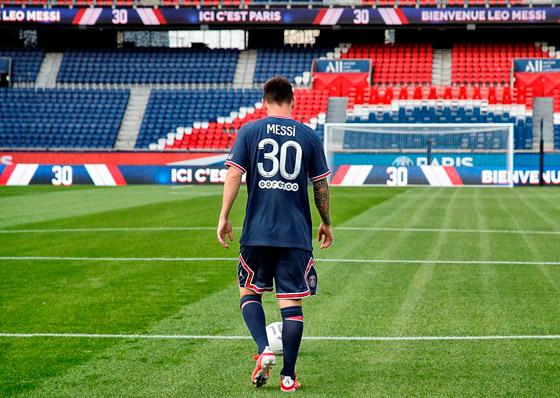 صورة رقم 12 - باريس سان جيرمان يتعاقد مع ميسي رسميا: عقده يمتد لعامين وسيحمل الرقم 30