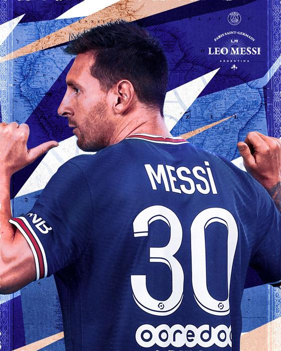 صورة رقم 21 - باريس سان جيرمان يتعاقد مع ميسي رسميا: عقده يمتد لعامين وسيحمل الرقم 30