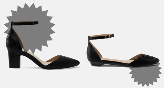 صورة رقم 1 - ابتكار أحذية عالية الكعب ومسطحة بنفس الوقت.. تجمع بين الأناقة والراحة
