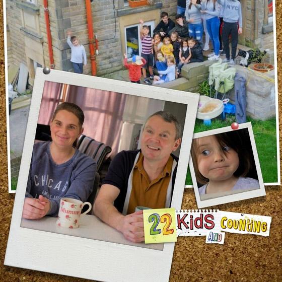 صورة رقم 2 - فيديو وصور: أم أكبر عائلة بريطانية (22 ولدا وبنتا) تروي أطرف وأصعب المواقف