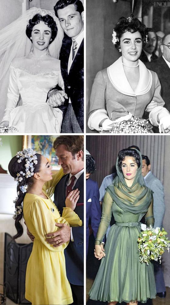 صورة رقم 1 - صور 10 عرائس شهيرات ارتدين فساتين زفاف جميلة وغريبة لا تنسى..