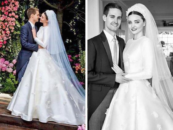 صورة رقم 8 - صور 10 عرائس شهيرات ارتدين فساتين زفاف جميلة وغريبة لا تنسى..