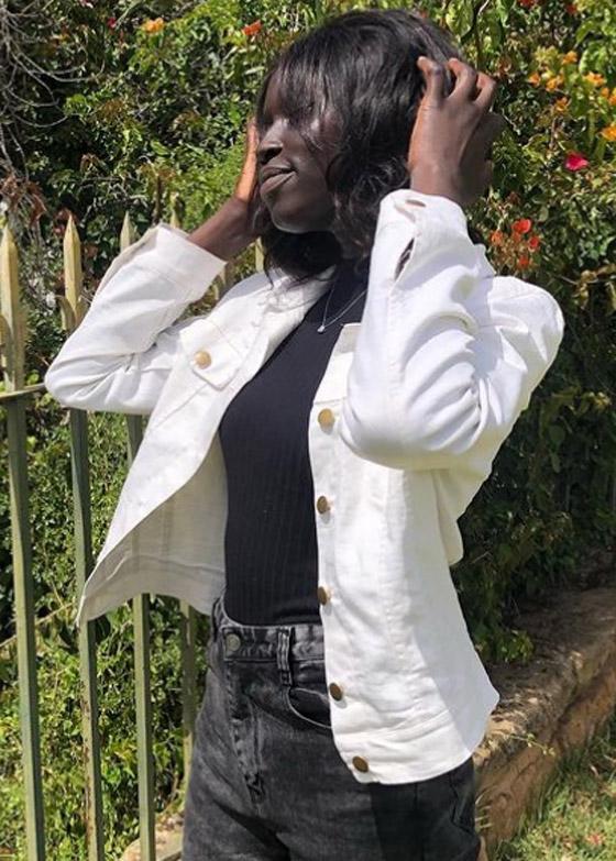 صورة رقم 4 - فيديو وصور: عارضة أزياء سودانية تحارب العنصرية بطريقة أثارت استحسان الجمهور