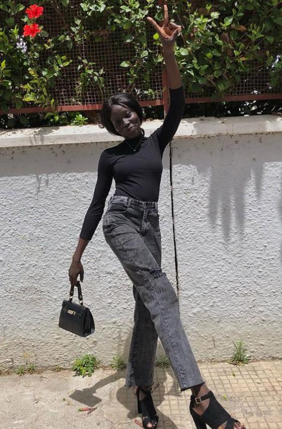 صورة رقم 5 - فيديو وصور: عارضة أزياء سودانية تحارب العنصرية بطريقة أثارت استحسان الجمهور