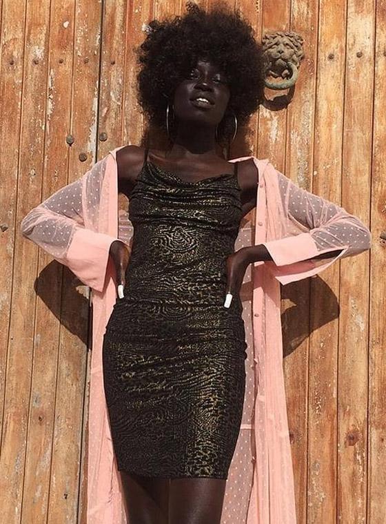 صورة رقم 10 - فيديو وصور: عارضة أزياء سودانية تحارب العنصرية بطريقة أثارت استحسان الجمهور
