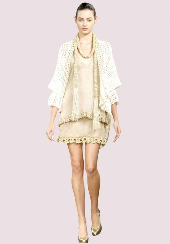 صورة رقم 3 - الفستان التريكو نجم موضة الخريف