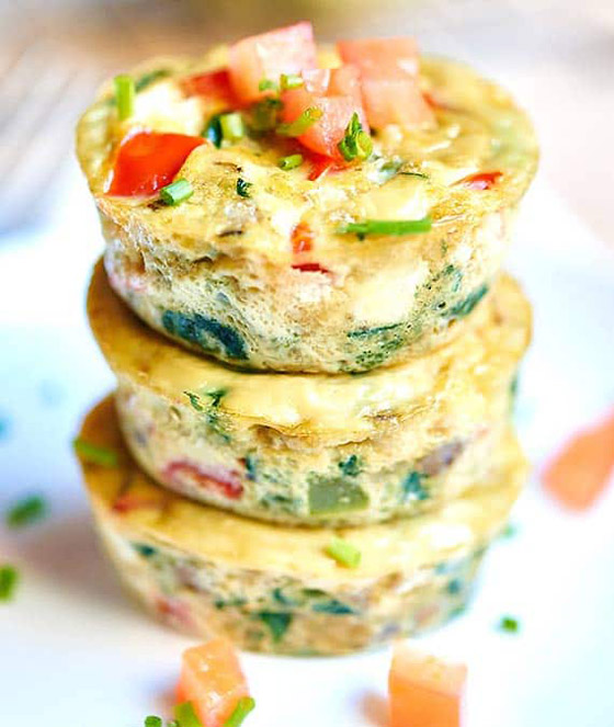 صورة رقم 2 - إليكم طريقة تحضير مافن البيض بالخضار الشهي والسهل