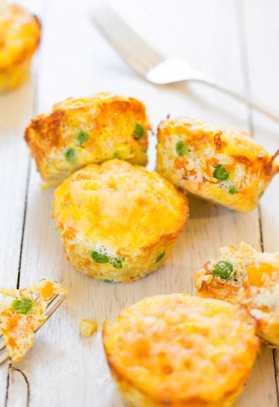 صورة رقم 3 - إليكم طريقة تحضير مافن البيض بالخضار الشهي والسهل