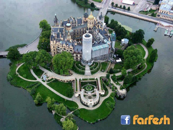 قلعة شفرين، ألمانيا