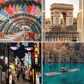 بالصور: تعرفوا إلى أكثر 10 أماكن شهرة على إنستغرام للعام 2021?